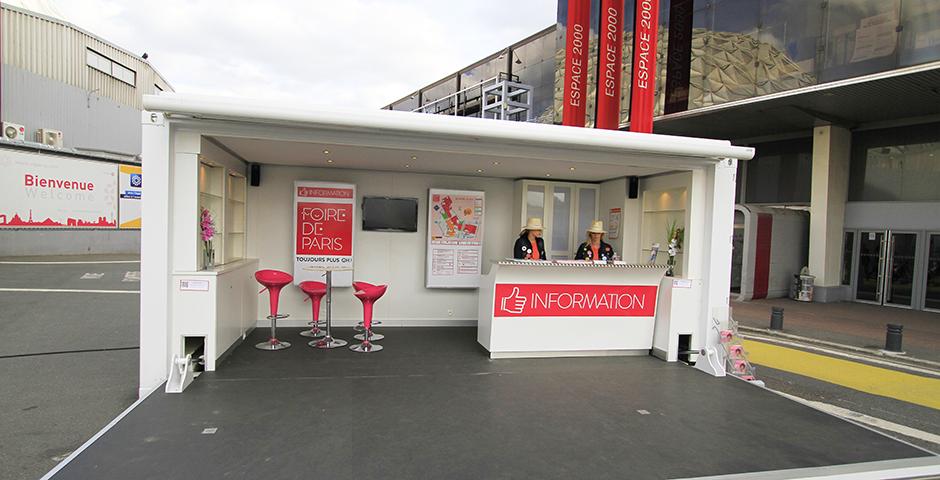 Foire de paris pocket stand for Conception stand de foire